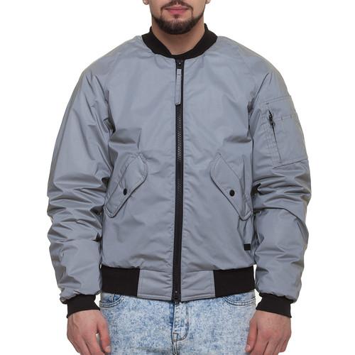 Куртка CODERED Bomber (Серый Светоотражающий, S)