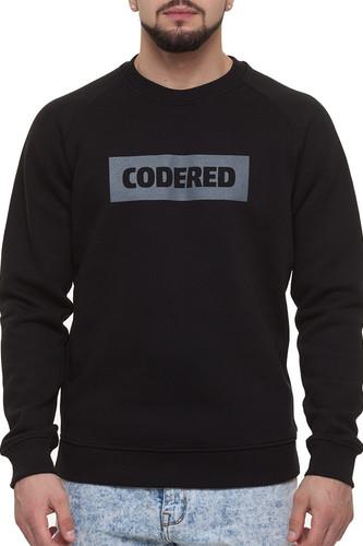 Толстовка CODERED Firm Лого (Черный/Серое Лого, L) цена 2017