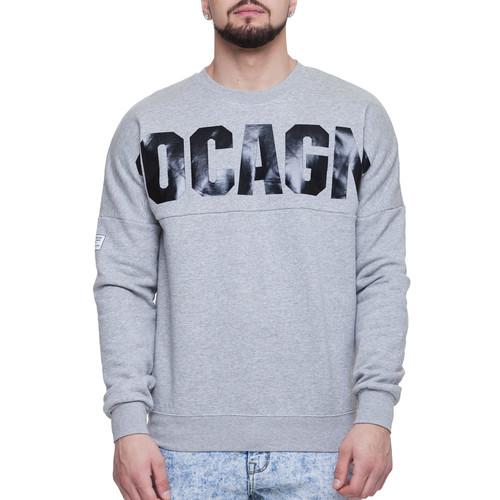 Толстовка CROOKS & CASTLES Coca Dolman Knit Crew Sweatshirt (Heather Grey, L)