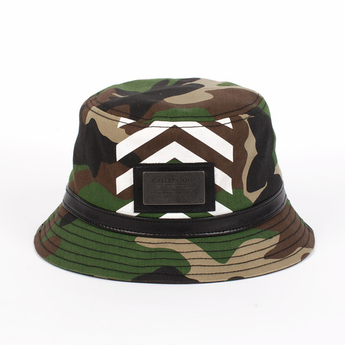 Панама CAYLER & SONS Luigi Bucket Hat (Forrest Green/Red/Gold, S/M)