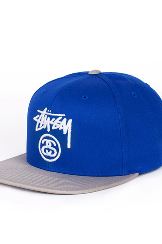 Бейсболка STUSSY Stock Lock SP16 Cap (Royal Blue, O/S)