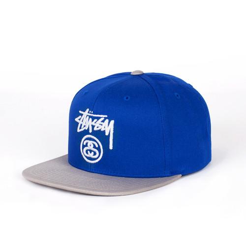 Бейсболка STUSSY Stock Lock SP16 Cap (Royal Blue, O/S) недорого
