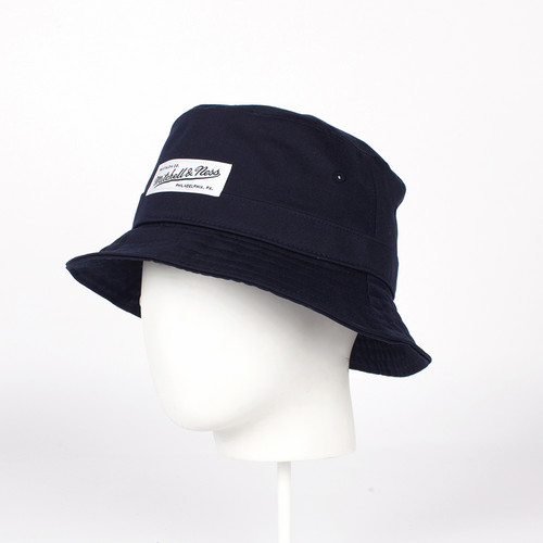 Панама MITCHELL&NESS Logo Bucket EU488 (Navy, O/S)