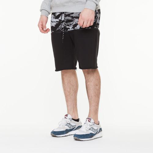 цена на Шорты CROOKS & CASTLES Illusory Knit Short (Black/Black Multi, L)