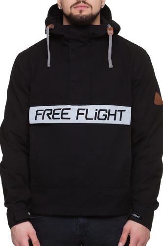 Анорак FREE FLIGHT Cat`s eye F-1629 (Черный, L) анорак free flight f 1512 женский navy xs
