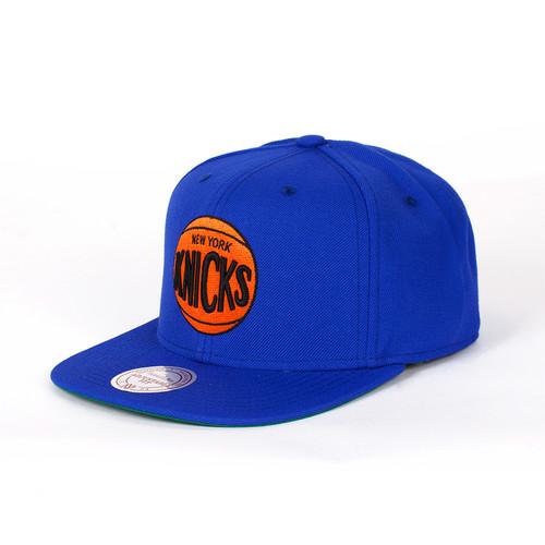 Бейсболка MITCHELL&NESS New York Knicks (Blue, O/S)