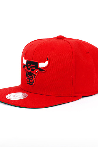Бейсболка MITCHELL&NESS Chicago Bulls (Red, O/S) кепка printio chicago bulls