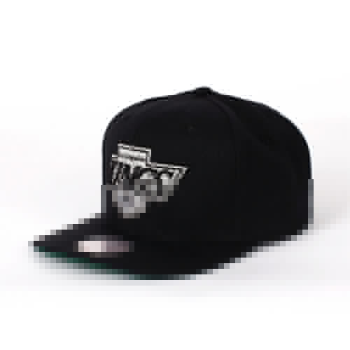 Бейсболка MITCHELL&NESS Wool Solid Los Angeles Kings Snapback (Black, O/S)