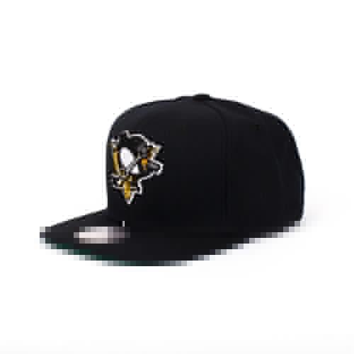 Бейсболка MITCHELL&NESS Pittsburgh Penguins (Black, O/S)