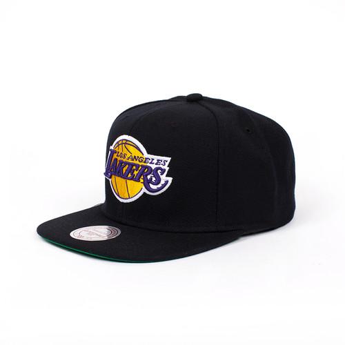 Бейсболка MITCHELL&NESS La Lakers Snapback (Black, O/S)