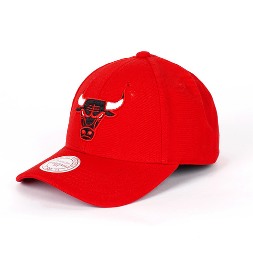 Бейсболка MITCHELL&NESS Chicago Bulls Snapback (Red, O/S)