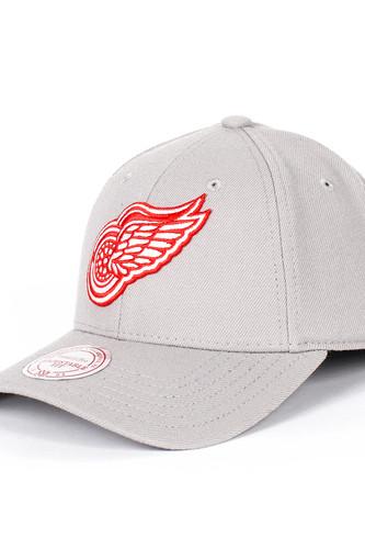 Бейсболка MITCHELL&NESS Detroit Red Wings Snapback (Grey, O/S)