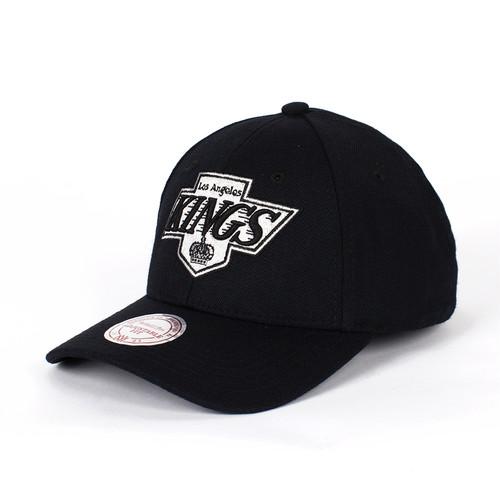 Бейсболка MITCHELL&NESS Los Angeles Kings Snapback (Black, O/S)