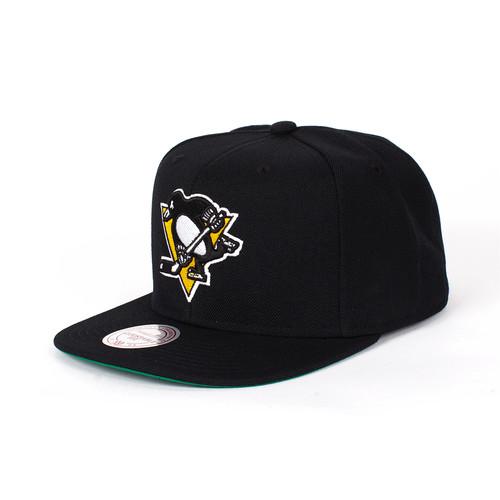 Бейсболка MITCHELL&NESS Pittsburgh Penguins Snapback (Black, O/S)