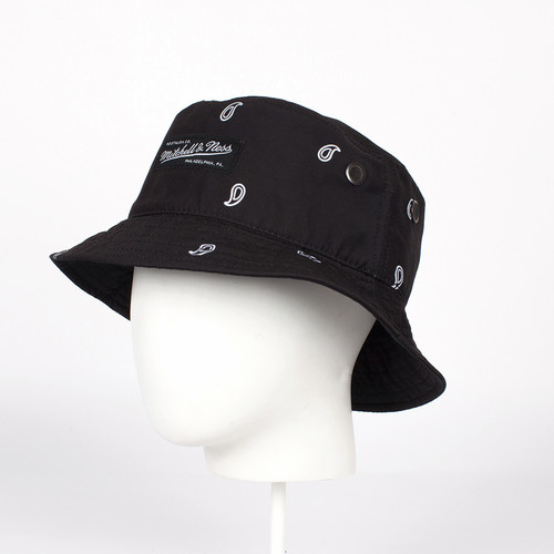 Панама MITCHELL&NESS Bucket Hat BAND003 (Black, 58)