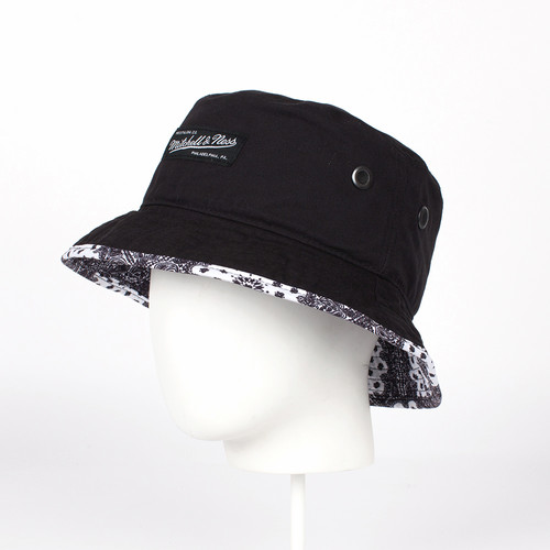 Панама MITCHELL&NESS Bucket Hat BAND006 (Black, O/S)