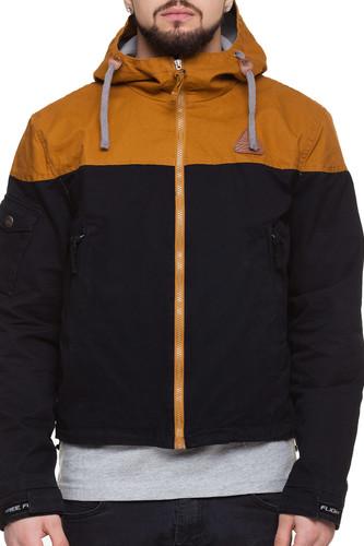 Куртка FREE FLIGHT F-1633 (Горчичный Черный, L)