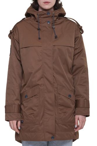 Фото - Куртка OLD SALT OUTFITTERS W A5WP (Коричневый-1, L) куртка женская trussardi цвет темно синий 36s00158 blue night размер l 46 48