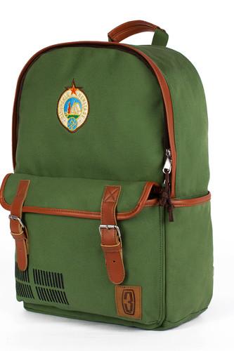 Рюкзак ЗАПОРОЖЕЦ Костёр (Зеленый)