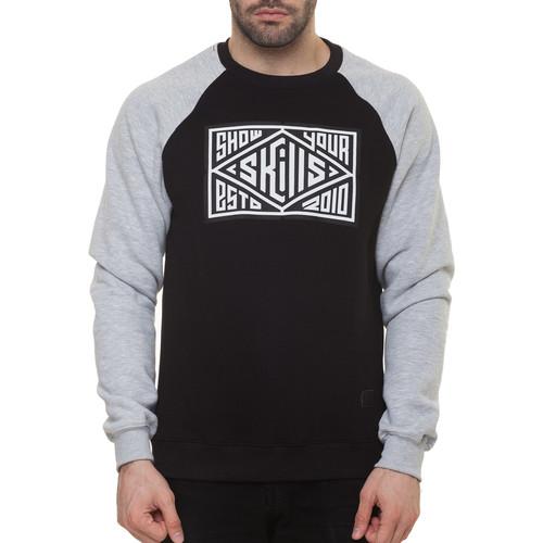 Толстовка SKILLS Quad (Black/Grey, XL)