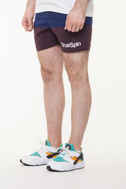 Шорты TRUESPIN Core Shorts Navy/Brown фото