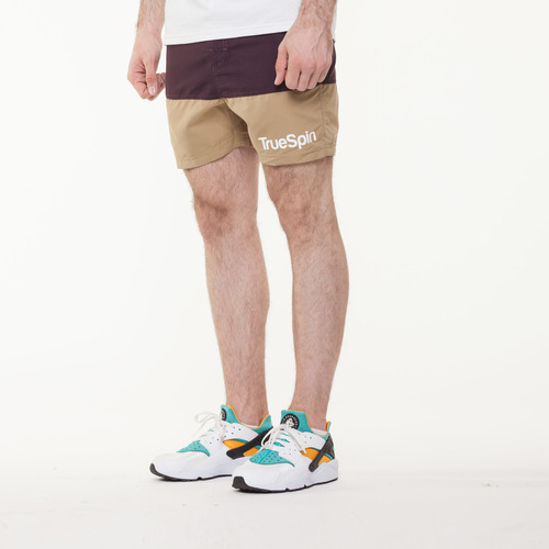 Шорты TRUESPIN Core Shorts Brown/Wheat фото 8