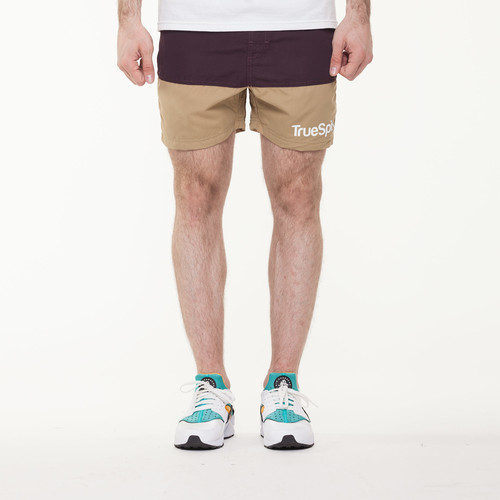 Шорты TRUESPIN Core Shorts Brown/Wheat фото 9