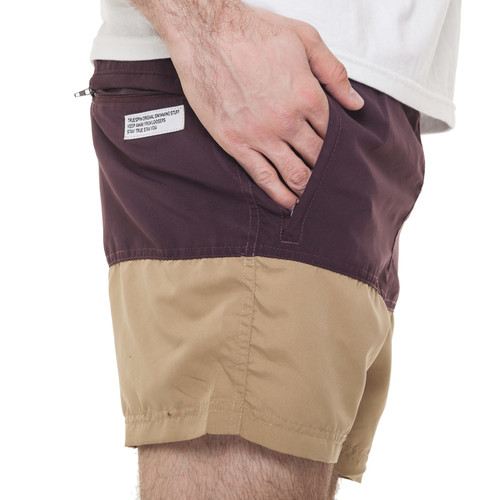 Шорты TRUESPIN Core Shorts Brown/Wheat фото 12