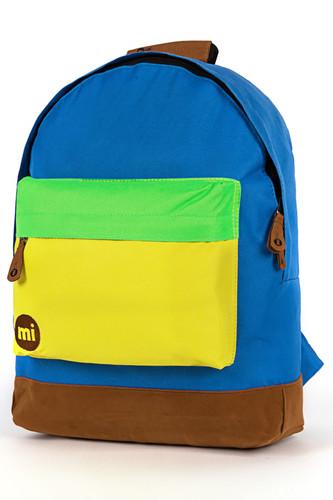 Рюкзак MI-PAC Tonal Tri-Tone (Royal/Yellow/Green-354) рюкзак mi pac gold orchid pale blue 041