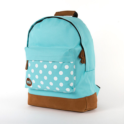Рюкзак MI-PAC Polka (Aqua/White-A02) рюкзак mi pac maxwell classic all black a01