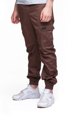Брюки SKILLS Chino Pockets Strap (Brown, XS)