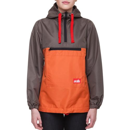 Анорак SKILLS Target 2 женский (Khaki/Orange, L)