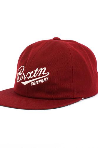 Бейсболка BRIXTON Fenway Cap (Burgundy-0702, O/S) бейсболка brixton gaston snapback light heather grey burgundy 0375 o s