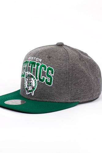 Бейсболка MITCHELL&NESS Boston Celtics EU119 (Grey, O/S)
