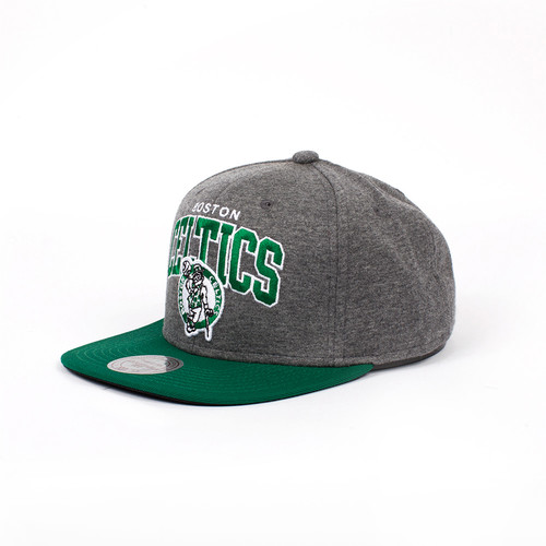 Фото Бейсболка MITCHELL&NESS Boston Celtics EU119 (Grey, O/S)