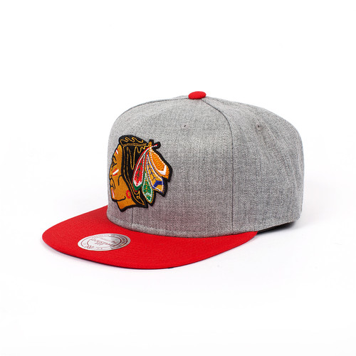 Бейсболка MITCHELL&NESS Chicago Blackhawks EU043 (Red, O/S)