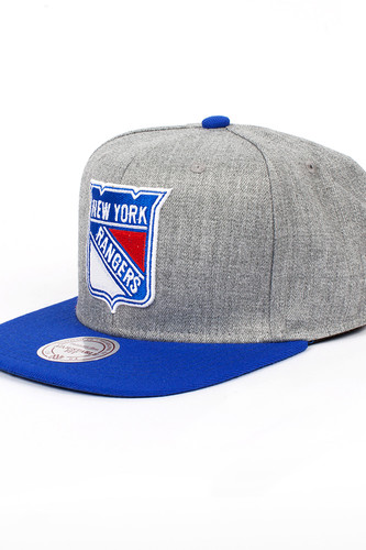 Бейсболка MITCHELL&NESS New York Rangers EU043 (Blue, O/S)