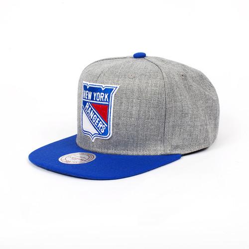 Бейсболка MITCHELL&NESS New York Rangers EU043 (Blue, O/S) худи print bar new york rangers
