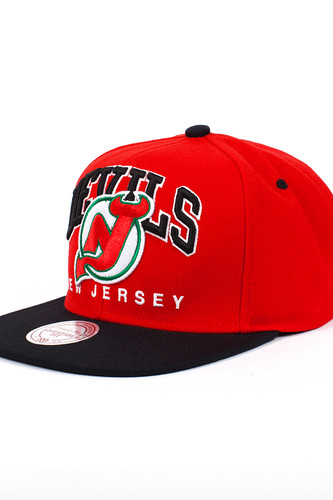 Бейсболка MITCHELL&NESS New Jersey Nuarc Snapback EU085 (Red, O/S)