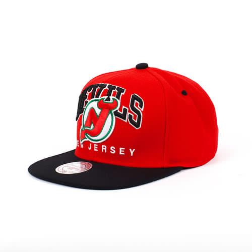 Бейсболка MITCHELL&NESS New Jersey Nuarc Snapback EU085 (Red, O/S)