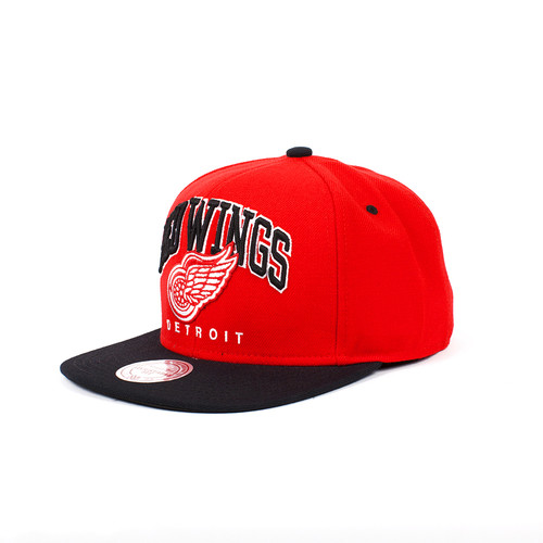 Бейсболка MITCHELL&NESS Detroit Red Wings Nuarc Snapback EU085 (Red, O/S)