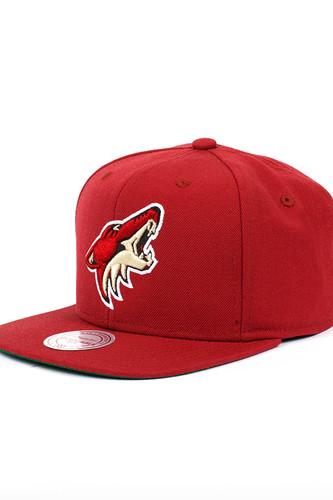 Бейсболка MITCHELL&NESS Phoenix Coyotes NZ980 (Burgundy, O/S)