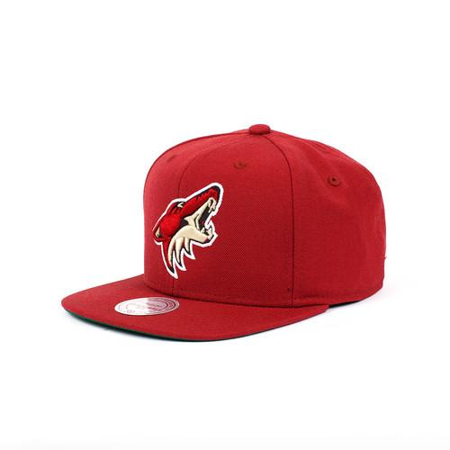 цена Бейсболка MITCHELL&NESS Phoenix Coyotes NZ980 (Burgundy, O/S) онлайн в 2017 году