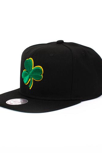 Бейсболка MITCHELL&NESS Boston Celtics NL15Z (Black, O/S)