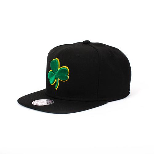 Бейсболка MITCHELL&NESS Boston Celtics NL15Z (Black, O/S) стоимость