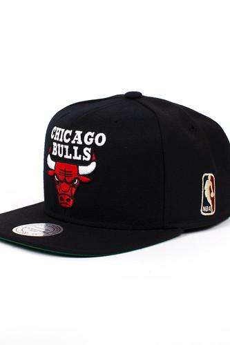 Бейсболка MITCHELL&NESS Chicago Bulls NL15Z (Black, O/S)