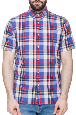 Рубашка PENFIELD Nolan Check Shirt Blue фото