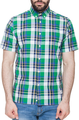 Рубашка PENFIELD Nolan Check Shirt Green фото