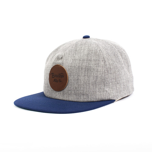 цена на Бейсболка BRIXTON Wheeler Cap (Heather Grey-0304, O/S)