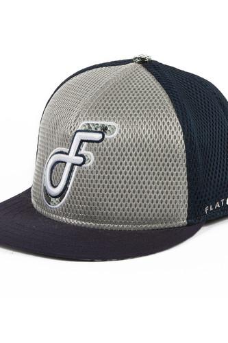 Бейсболка FLAT FITTY Foam Gator (Blue-Silver-Gator-FF-95800, O/S) леннокс марион пять слагаемых счастья 1669